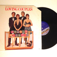 OCTOBER SALE Loving Couples Original Motion Picture Soundtrack LP Album Record 1980 The Temptations Shirley Maclaine