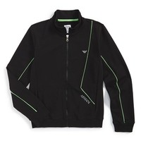 Boy's Armani Junior Full Zip Track Jacket,
