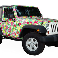lily pulitzer wrapped jeep - Google Search