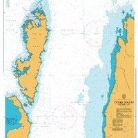 British Admiralty Nautical Chart  2479: Inner Sound Northern Part