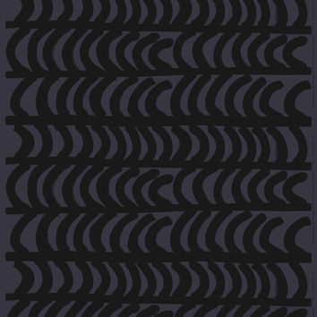 FABRIC RAUTASANKY DARK GREY/BLACK COTTON 1/4 YARD