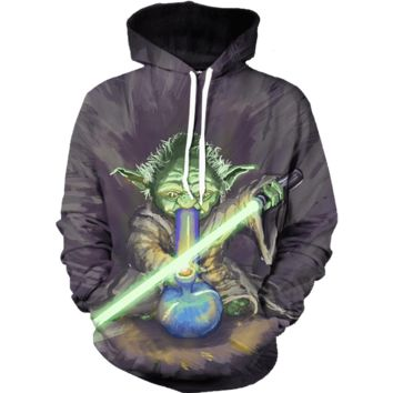 May the Bong Be With You Hoodie