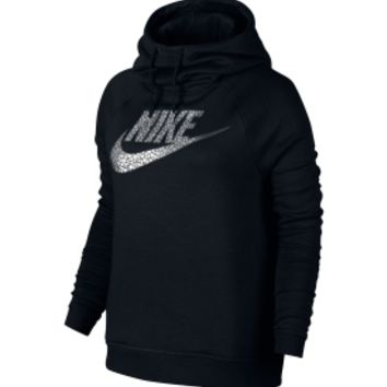 Nike Women's Sportswear Rally Metal Funnel Neck Hoodie | DICK'S Sporting Goods
