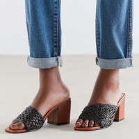 Intentionally Blank Roll Woven Mule Heel | Urban Outfitters