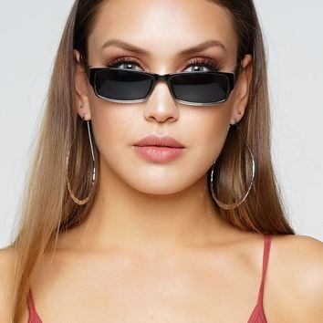 Citara Sunglasses - Black/Clear