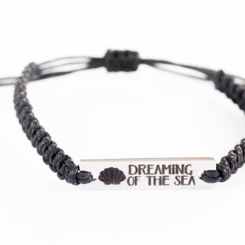 Dreaming of the Sea, Word Bracelet