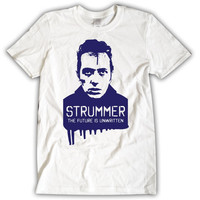 "JOE STRUMMER ""The Future is Unwritten"" The Clash T-Shirt Unisex"