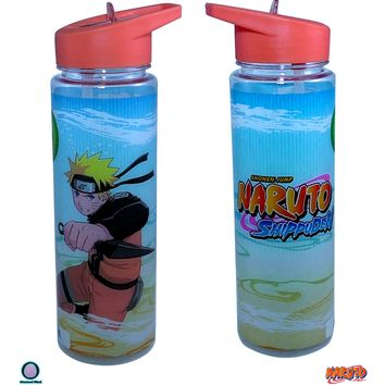 32oz Naruto Shippuden O Sports and Fitness Training PREMIUM Water Bottle (BPA-Free)