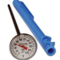 Taylor Precision Products Food Service #1 Grade Thermometer (1-Inch Dial)