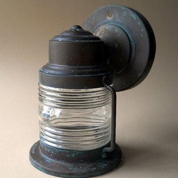 Vintage Jelly Jar Porch Light Fixture by whatnotsandsuch on Etsy