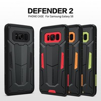 Shockproof Armour Case For Samsung Galaxy S8 S8 Plus Note 8 NILLKIN Defender 2 Shield Back Cover Tough Cases For Samsung S8 Plus
