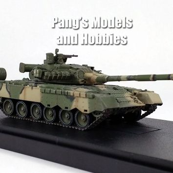 T-80 (T-80BV) Soviet Army 1985 - 1/72 Scale Model by Modelcollect