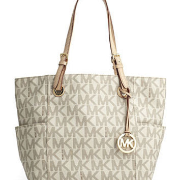 Michael Kors Handbag Signature Tote Handbags Accessories Macy S