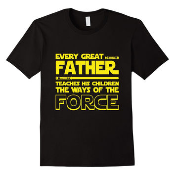Best Tee For Star Dad Wars . Father's Day T shirt