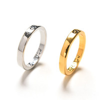 Alloy Couples Rings for Men Women Wedding B s Engagement Anniversary Lovers his   hers promise Valentines Gift 2 PCS SM6