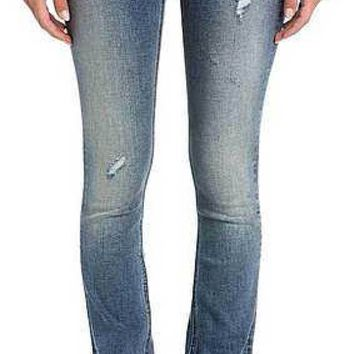 Miss Me Medium Blue Classic Slim Bootcut Jeans