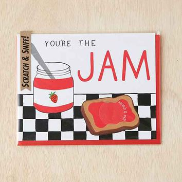 The Jam Scratch + Sniff Card- Multi One
