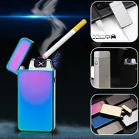 Double Arc Windproof Electronic USB Rechargeable Lighter