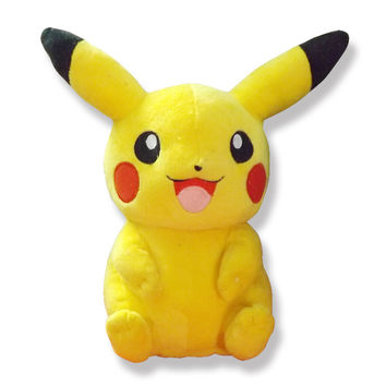 22cm Pikachu Plush Toys High Quality Cute Pokemon Plush Toys Children's Gift Toy Kids Cartoon Peluche Pokemon Pikachu Plush Doll