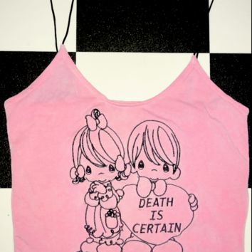SWEET LORD O'MIGHTY! DEATH IS CERTAIN SKINNY TANK