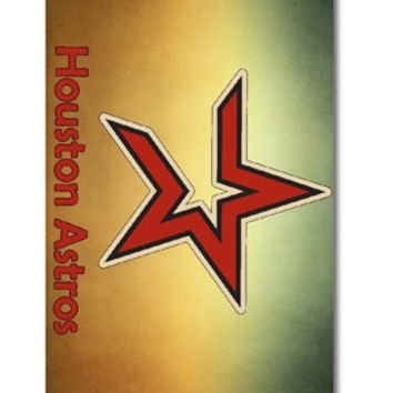 Forever MLB Houston Astros Baseball, Cool iPhone 5 Smartphone Case Cover