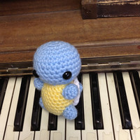 Squirtle Pokemon amigurumi plush toy