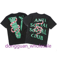New Arrival Anti Social Social Club T-shirt Men Women High Quality Cotton 1:1 Version Hip Hop Summer O-neck Short Sleeve T-shirt