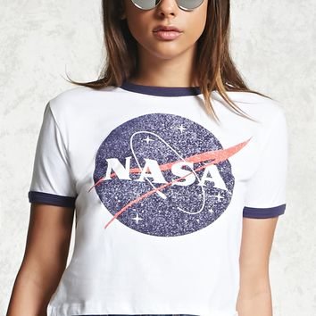 NASA Graphic Ringer Tee
