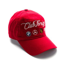 Club Foreign German Series Hat Red
