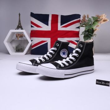 """""""Converse All Star"""" Unisex Casual Classic High Help Canvas Shoes Couple All-match Flat Cloth Shoes"""