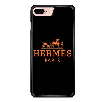 Hermes Logo 2 iPhone 7 Plus Case