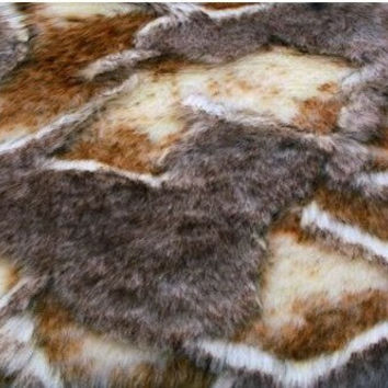 2 Colors Faux Fur Fabric Fur Rabbit Fur Fabric By The Yard Pillow Fabric Bedding Fabric Coat Fabric