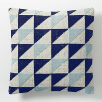 Triangle Geo Pillow Cover - Nightshade