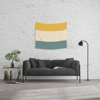 Sunshower Wall Tapestry by spaceandlines