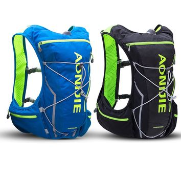 High Quality Outdoor Sport Bag 10L Trail Running Bag Hydration Backpack Jogging Sport Vest Waist Backpack Sports Riding Bags Hot
