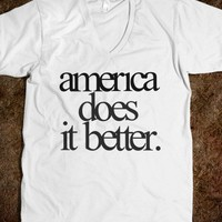 America does it better - Happy Friday
