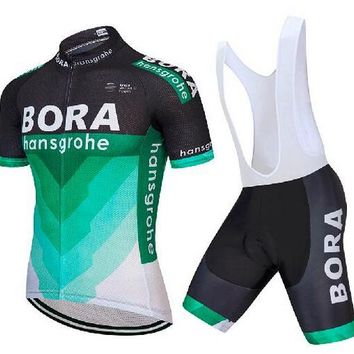 UCI 2018 BORA team men short sleeve cycling jersey Tour de France ropa ciclismo bicycle clothing bike clothes bib shorts set A21