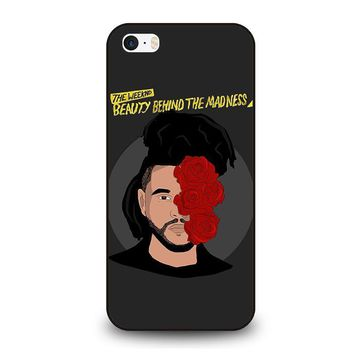 the weeknd bbtm beauty behind the madness iphone se case cover  number 1