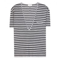 saint laurent - wool t-shirt