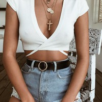 Buy Our Danika Top in White Online Today! - Tiger Mist