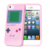 Gameboy Iphone Case in Pink