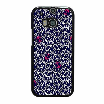 lilly pulitzer anchor pattern htc one cases m8 m9 xperia ipod touch nexus