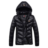 The North Face 2018 winter new warm outdoor cotton coat down jacket Black