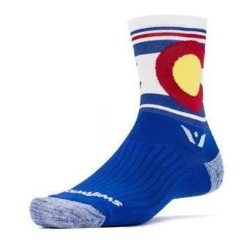 Colorado Flag Athletic Running Socks- Swiftwick