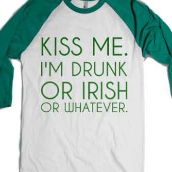 White/Evergreen T-Shirt | Funny St Patrick's Day Shirts