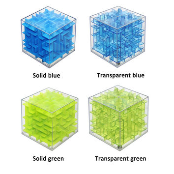 Maze Magic Cube 3D Puzzle Labyrinth Rolling Ball