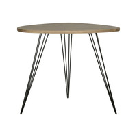 Hairpin Corner End Table