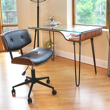 Leander Office Desk and Chair Collection