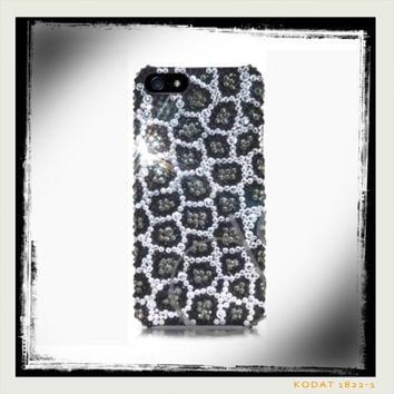 Swarovski Leopard Bling iPhone 5/5s Crystal Case Made With Swarovski Elements Crystals - Bling iPhone case