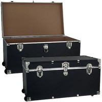 "Mercury Luggage Wheeled Storage Locker, Black, 31"" - Walmart.com"